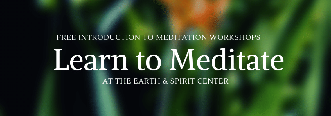 Free Workshop: Introduction to Meditation