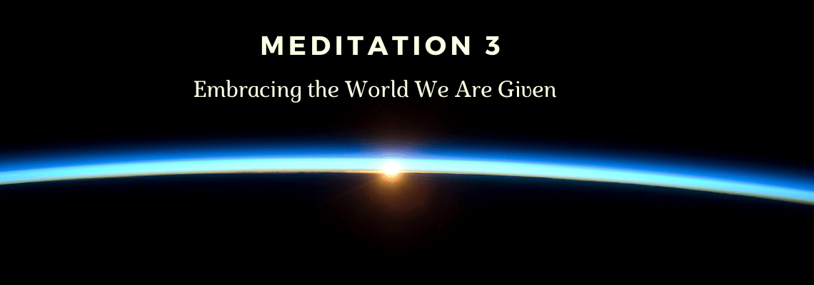 Med 3 – Our Place in the Cosmos