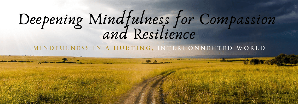 Deepening Mindfulness for Compassion and Resilience